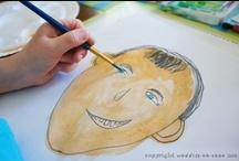 Art for Kids / ARTS and No crafts, just real ART by real kids. Artistic ideas for preschool, kindergarten, parents, teachers and homeschool. / by Jeannine Aristeguieta