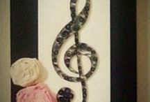 Decor For My Music Room / by Kayla King