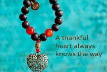 Dankbaarheidstrengen/gratitude beads / We (Dankbaar.org) sell gratitude beads to make people aware of the gratitude in their lives. I am a volunteer for the (web)shop and all related work. / by Haak_aan