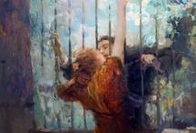 Ambrogio Antonio Alciati / Una piccola gallery dedicata al grandissimo pittore vercellese Alciati (Vercelli, 1878 – Milano, 1929)