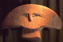 Statuaria / ancient sculptures / Collezione di scultura e coroplastica antica - in pravalenza celtica, etrusca ed italica