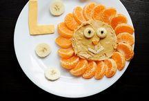 Kid lunch ideas/Snack ideas / by Kayla King