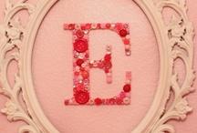 E + R = M / I love our initials 8))) / by Tia Lissie