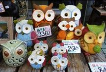 Owl Crafts / by Danice Gentle