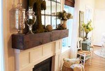 Inspiration: Fireplace Mantles