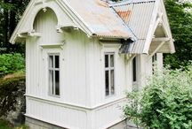garden playhouse / Wendy house, playhouse, cabins, sheds and cottages for children