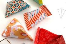 paper gift boxes / origami containers