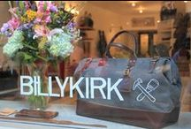 Billykirk Store / Come on in and smell the leather at our Store in the LES! Custom embossing and foil stamping available on-site