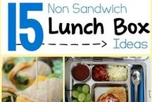 No More Sandwiches! / No Heat Lunches & Alternatives to Sandwiches. / by Kristin Cash
