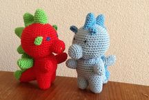 Crochet amigurumi / I try to put the amigurumi apart from the other nice crochet ideas