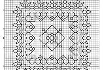 Blackwork / Hand stitchery / by Linda Sini