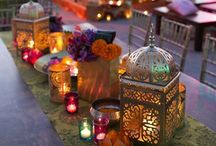 Arabian Nights / Moroccan Theme / Gorgeous rich tones and embellishments