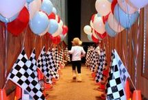 Grand Prix Theme / Perfect for kids party in park