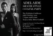 Adelaide Silver Style Cocktail Party 2016 / In support of the Ovarian Cancer Research Foundation