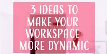 Home Office Organization, Decoration & DIY Projects