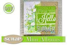 ScRaP Mini Albums / Idées ou envie de Mini Albums