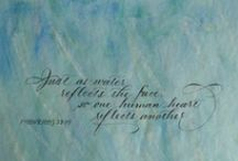 Jan Hurst Calligraphy & Design / Calligraphy and other artworks by me!   Penlettering(at)gmail(dot)com