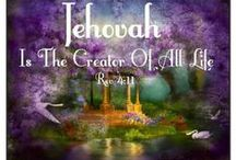 """Jehovah God / I am one of Jehovah's Witnesses and this board is dedicated to spreading the good news of Jehovah's Kingdom led by his Son Christ Jesus. Feel free to e-mail me with questions or thoughts @ cbarbzocean@aol.com or you can visit our official web site @ jw.org There is no obligation to join and no one will call on you if you do not want them to~~ Matthew 7:7-8 """"Keep on asking, and it will be given YOU; keep on seeking, and YOU will find; keep on knocking, and it will be opened to YOU"""""""