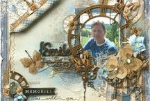 Scrapbook - Layouts / by Designs By Dawn Rene