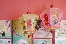 Chinese painted lanterns / by Sparrow King