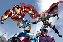 Heroes Assemble!!! / A collection of Superheroes, and Antiheroes I can't get enough of! :D / by Penn Marin