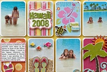 Beach/Tropical Scrapbooking / All Summer, Beach and Tropical Scrapbooking / by Debbie Peters