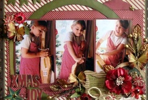 Scrapbook - Layout Christmas / by Designs By Dawn Rene