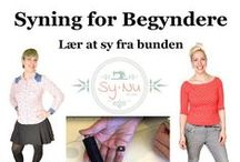 {Sewing Tutorials, Tips & Tricks - Syvejledninger, Tips og Tricks}