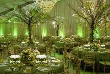 Emerald Wedding / According to Pantone LLC Emerald is the color of the year (2013).
