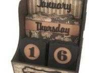 Scrapbook - Calendar / by Designs By Dawn Rene