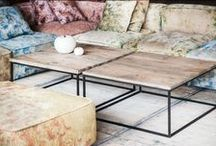 salontafels en sidetabels / Interieur en Inrichting