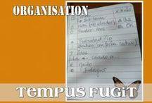 ORG Tempus Fugit / Bullet Journal / Idées pour tenir à jour mes listes, multiplier mes heures...