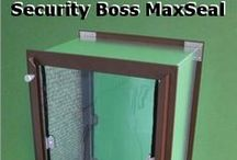Wall Mounted Pet Doors / Pet doors designed to be installed through walls. Electronic and manual pet door available.