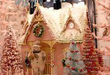 Christmas Putz Houses & Scenes