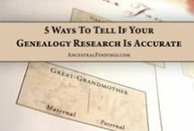 Family History or Geneology