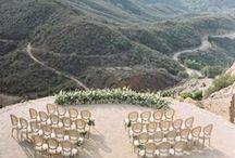 Wedding Location Ideas by Gregory G Hall Designs / Great ideas for wedding locations. Beautiful places around the world to share the perfect dream wedding.