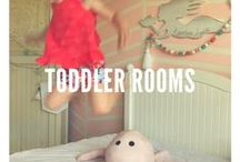 Toddler Rooms / Treat your toddler with a room where they will love to sleep.
