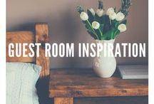 Guest Room Inspiration / Make sure that your guests feel at home.