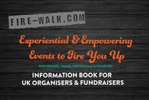 Firewalking / Firewalking and extreme empowerment events for charities, groups, teams and businesses.
