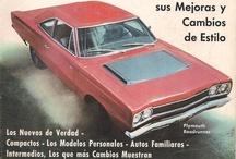 Revistas de automóviles y motos  - nº1- s.XX