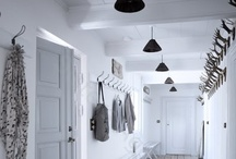 //White + Black Interiors// / White with black accents.