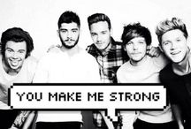 one dιrecтιon ❤️ / Niall, Louis, Harry, Zayn and Liam ❤  I love them soo much!! they always make me smile :)  / by Cassidy ❁