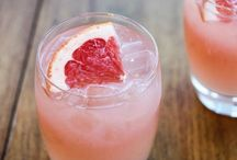 Cocktails / Elegantly boozy...