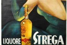 Strega Liqueur, Favorite Things / All things Strega Liqueur, recipes, vintage ads, drinks, history.