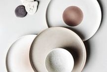 A hint of pink / Subtle splashes of pink: pale blush pink, powdery rose pink, and earthy pink with a hint of terracotta...