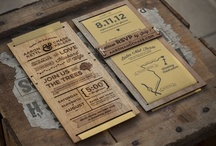 wed | invite. / Beautiful wedding invitations that showcase big ideas, intricate details, and full hearts. / by Emily Sapp