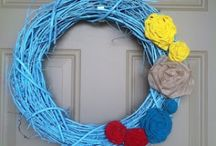 Wreaths / by Amy Vaughn