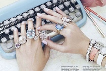 Accessorize! - Bags, Jewels & Added glam / by Melissa Magid