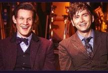 My Doctors / mostly David Tennant & Matt Smith / by Jordyn Sullivan