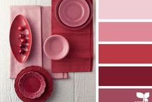 Color Combos / Pinks, Reds, Oranges... / by Sandy Ann